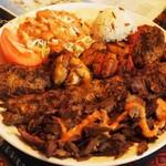 トルコ料理レストラン ヒサル - ケバブの盛り合わせ