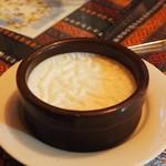 トルコ料理レストラン ヒサル - ストラッチ(ライスプディング)