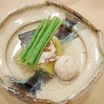 41570542 - にしん茄子、石川芋の揚げ物を添えて