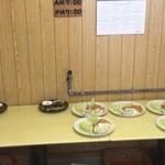 構内食堂 - 洋食と和食が選べます