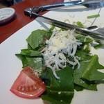 味どころ 遊 - シラスとホウレン草のアンチョビサラダ