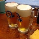 41575685 - 2015.8                       生ビール(中) 500円×2