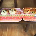 なちゅ~るロール - 店内 キャラクターパン