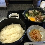 食工房主水 - 愛媛名物 鯛ひゅうがご膳(1450円)