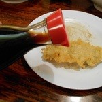 鳥の巣 - ネギマ串は醤油で頂きましょう。