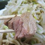 島系本店 - 柔らかい角煮風肉。