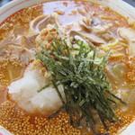 まると - 納豆おろし坦々麺(冷)770円 27.9.4