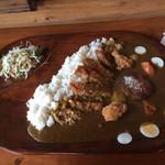 家庭料理の店 ふるさと食堂 - ジャンボカレー
