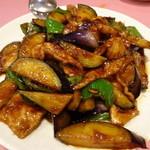 ヤムチャ - 豚肉と茄子の味噌炒め