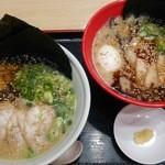 イップウドウ ラーメンエクスプレス 静岡SA店 - 白丸&赤丸