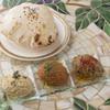地中海の前菜3種 + ピタパン