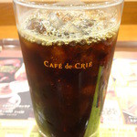 カフェ・ド・クリエ - アイスカフェ レギュラー