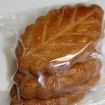 焼き菓子 YAOZE - 料理写真:リーフサブレ