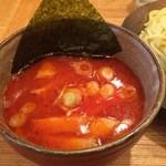 41585593 - 辛味つけ麺スープ(辛味MAX)
