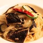 フェリア トウキョウ - 秋刀魚と茄子のペペロンチーノ すだち風味