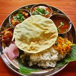 スーリヤ食堂 - 料理写真:南インド風カレー定食