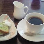 キャトルセゾン 旬 - 野菜づくし御膳のデザート、コーヒー