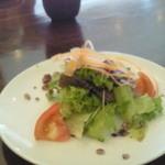 キャトルセゾン 旬 - 野菜づくし御膳のサラダ