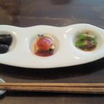キャトルセゾン 旬 - 野菜づくし御膳の前菜