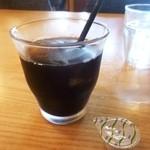 brasserie la fine - セットのドリンク(アイスコーヒー)