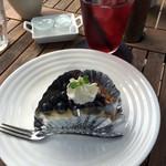 カフェ・ラグラス - ブルーベリータルト