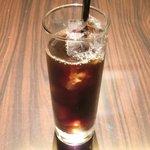 カチナ - 本日のお肉料理 1250円 のアイスコーヒー