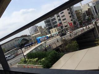 ロイヤル ガーデン カフェ 目白店 - テラス席からの眺め