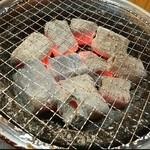 大船ホルモン - 炭火焼きですよー❤(*´∀`)♪