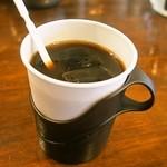 ガラムマサラ - 食後のアイスコーヒーはサービス