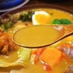 ガラムマサラ - カレーラーメン(スープ)
