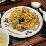 41594276 - 味仙青山店(豚肉ときくらげの玉子炒め)