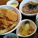 和食さと - 料理写真:秋の味覚天丼