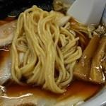 麺や田中 - たまりそば チャーシュー増し(850円)