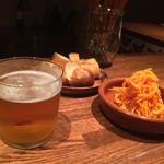 41596340 - キャロットラペとビール