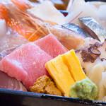 板前バル - 板前バルの海鮮重の御膳【2015年8月】
