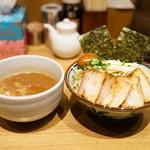 鼈 - 料理写真:2015.9 特製つけ麺(1,000円)