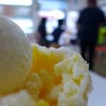 やぎや - 甘い練乳とマンゴーシロップ。