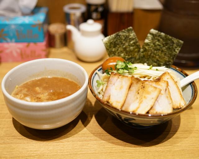 鼈 - 2015.9 特製つけ麺(1,000円)