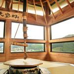 和束茶カフェ - 八角形の畳の座敷【天空カフェ】(2015.5月)