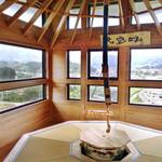 和束茶カフェ - 高台寺の茶室「傘亭」がモチーフ(2015.5月)。受付は和束茶カフェで