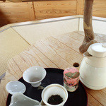 和束茶カフェ - 天空カフェは利用料1人500円+お茶セット600円