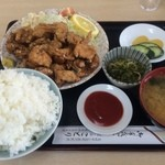 小鳥食堂 - 唐揚げ定食【料理】