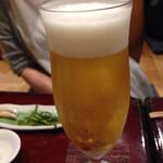 美酒美燗 煮りん - 日本酒のほかにビールもありますよ。