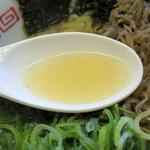 まぐろラーメン本舗  太陽軒 - スープ