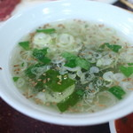 焼肉 京城 - スープ