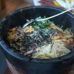 焼肉 京城 - 石焼ビビンバ