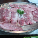 焼肉 京城 - 笹身ロース