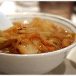 蒙古タンメン中本 - ハーフ味噌タンメン