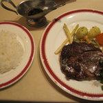 Guruton - 牛ロースステーキ