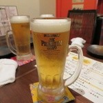 かりゆしナイト - 生ビール